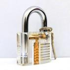 普通透明挂锁练功锁