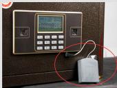 电子保险柜没电怎么开?